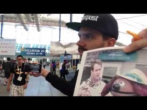 YouTuber Birdtooth At Comic-Con #SDCC