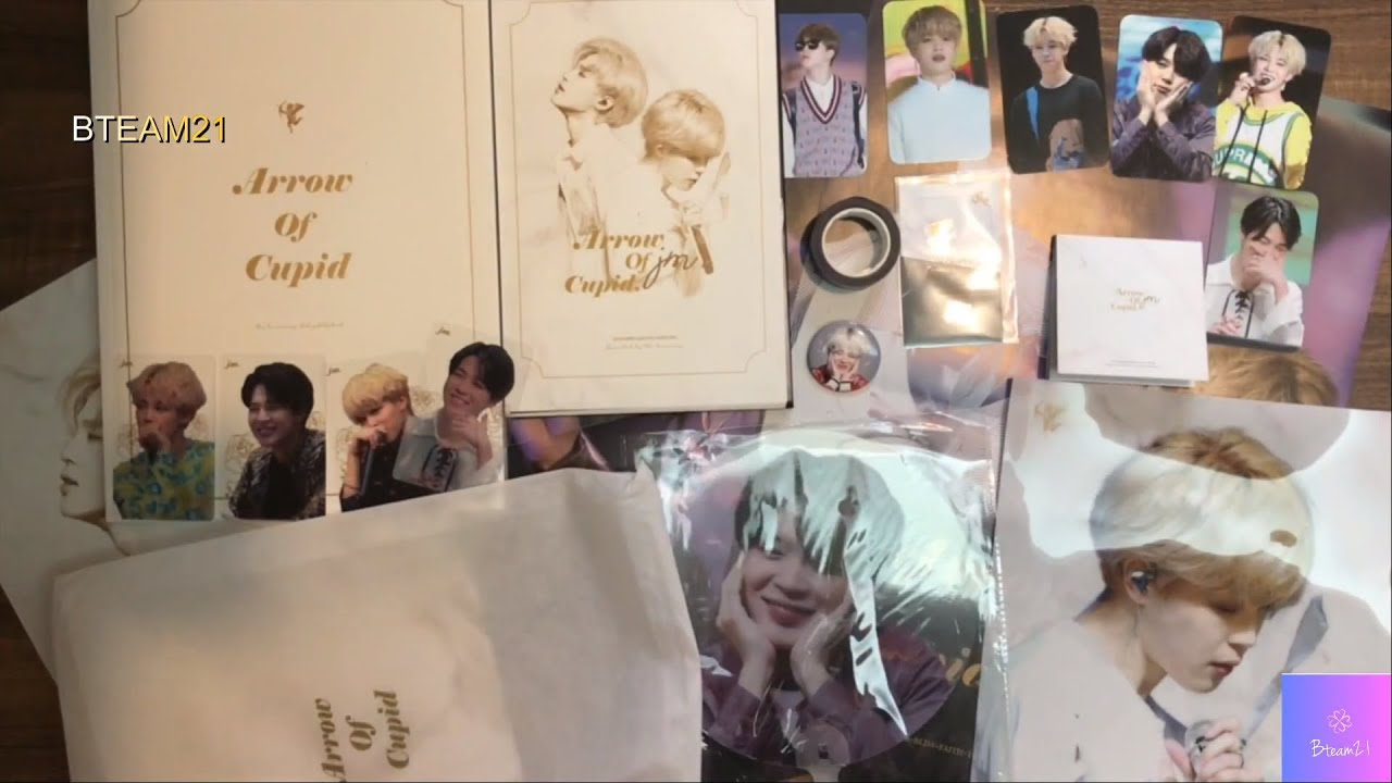 UNBOXING FANSITE THE LUMINARYS 2ND PHOTOBOOK ARROW OF CUPID