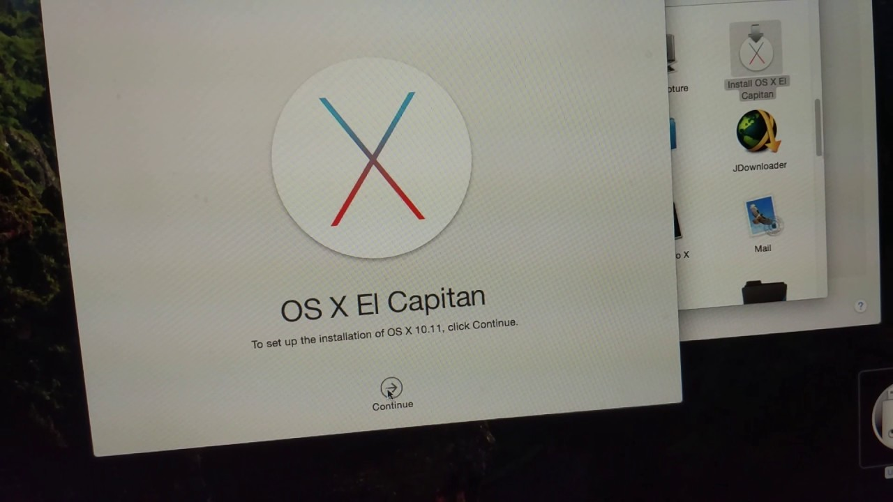 this copy of the install os x el capitan application cannot be verified