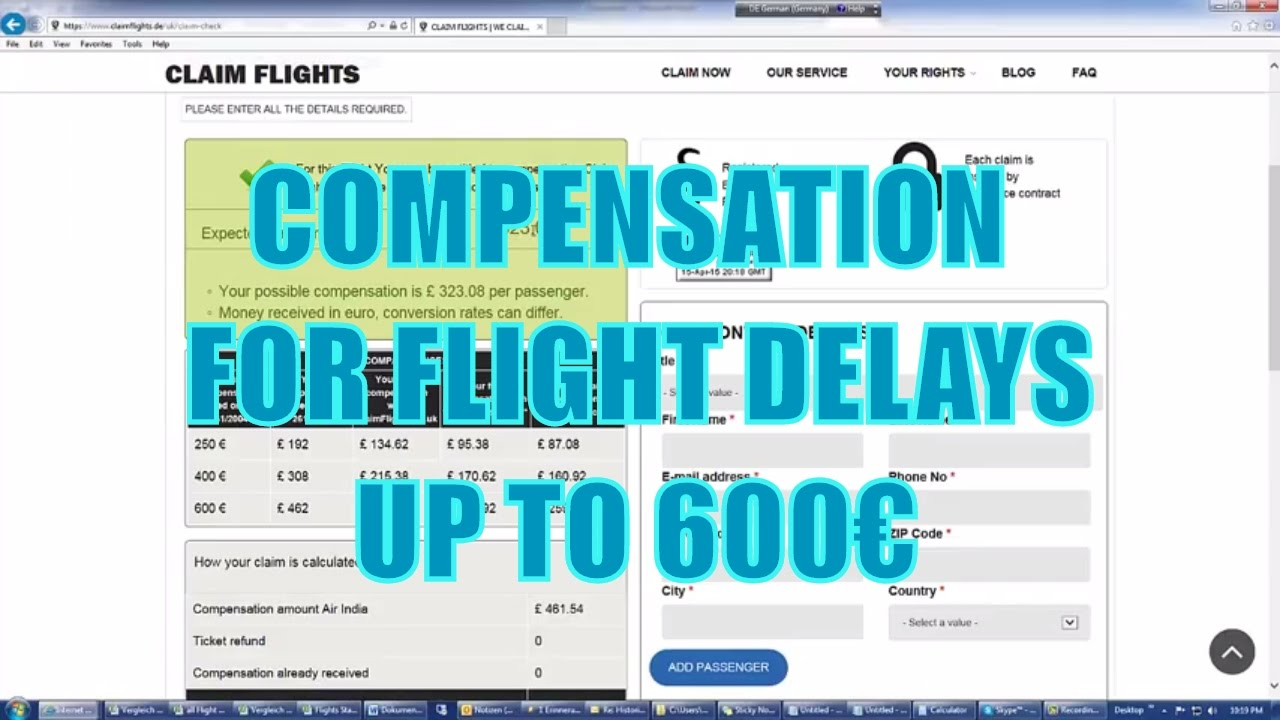 United Airlines Flight Delays / Cancellations - Claim Up To 600€