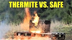 Fireproof Safe Full of THERMITE | Will It Explode or Melt?