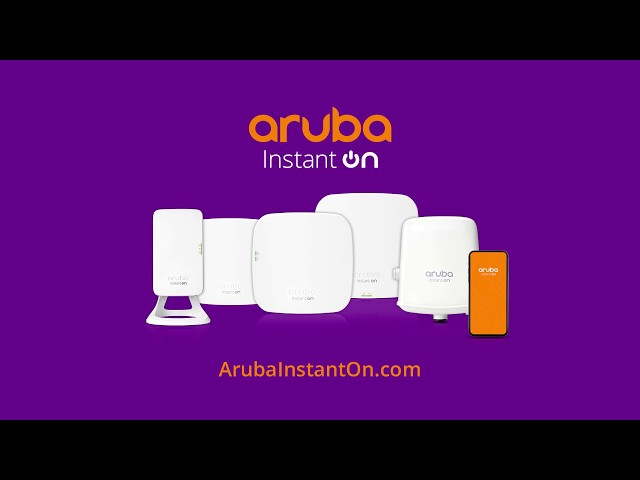 Aprende acerca de las ventajas de Aruba Instant On
