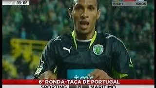 Sporting - 2 x Marítimo - 1 de 2007/2008 1/8 Final da Taça de Portugal