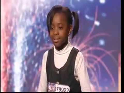 Download Natalie Okri -10 Year Old Singer - Britains Got Talent 2009 - Ep 6 Sings Alica Keys NO ONE
