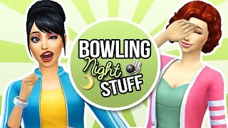 The Sims 4 || Bowling Night Stuff || CAS Overview & 1st Impressions