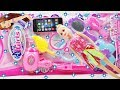 Girls Toy Beauty Set Unpacking With Cute Baby Doll
