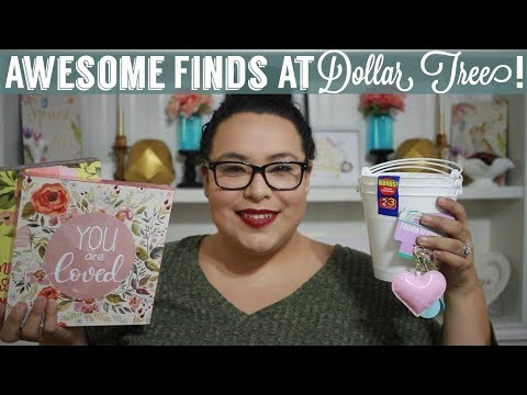 Awesome Finds At Dollar Tree | Dollar Tree Haul | 3/16/18