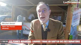 Les Pennes-Mirabeau : Ludovic Turac au soutien des restaurateurs