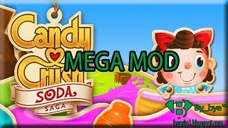 Candy Crush Soda Saga v1.95.1 | MEGA MOD - Android