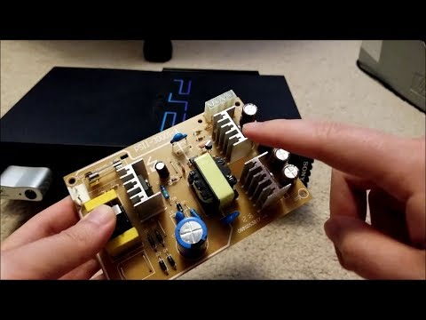 Let's Fix: Sony Playstation 2 Power Supply Replacement