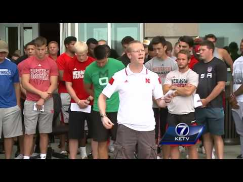 Vigil held in Lincoln for Sam Foltz