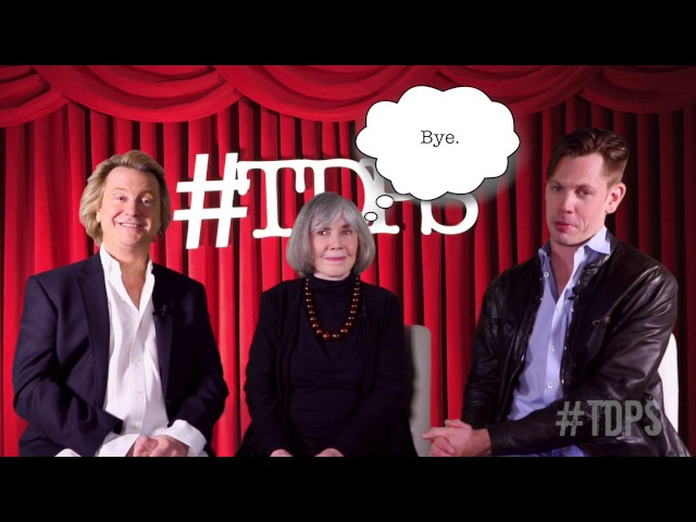 Anne Rice Is Here To Give You Stuff | #TDPS with Christopher Rice & Eric Shaw Quinn