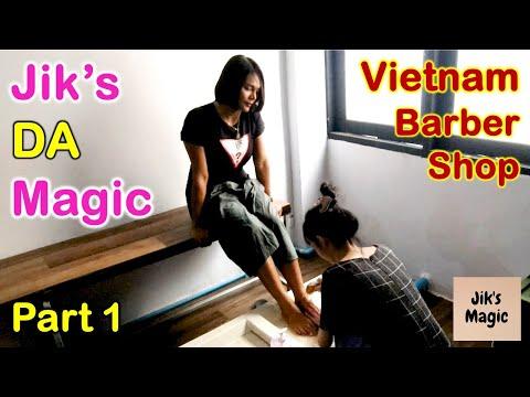 Vietnam Barber Shop Jik's DA Magic - Hwangje (Bangkok, Thailand) Part 1