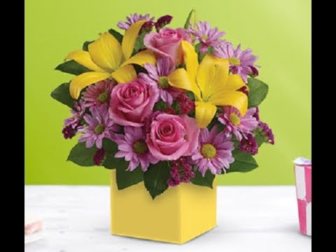 Flowers For Birthdays 12 Types Of Beautiful Multi Colored Bouquets