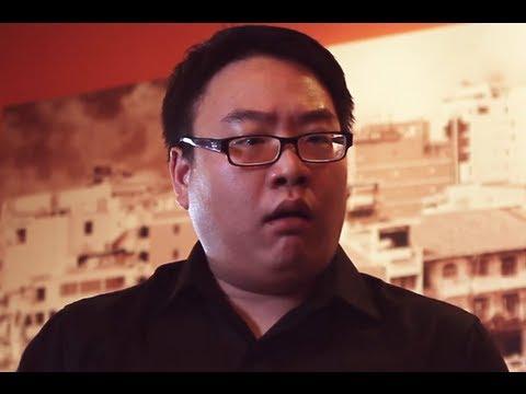Rude Asian Waiter