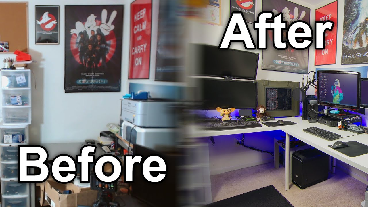 Building The Ultimate Youtube Gaming Setup Timelapse And