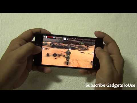 Gionee Elife S5.5 Hardware Benchmark and Gaming Review   HD Games Played   MC4, Frontline Commando D