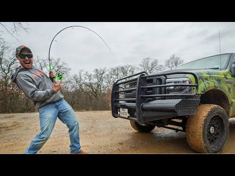 Worlds Strongest Fishing Rod? Testing the Limits!