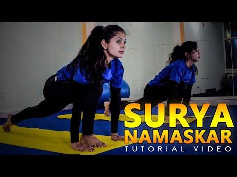 Surya Namaskar - Tutorial Video thumbnail