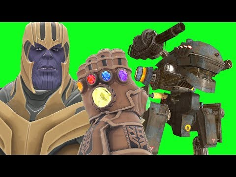 Can Thanos' INFINITY GAUNTLET Kill The COMBINE MECH In Gmod?