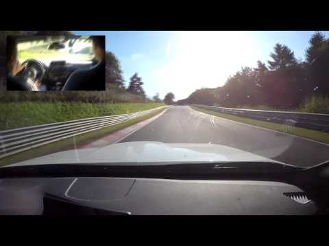 BMW M3 Ring Taxi clean lap Nurburgring Nordschleife