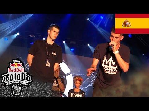 Batalla Final: CHUTY vs SKONE - Final Nacional Valencia 2016 - Red Bull Batalla de los Gallos