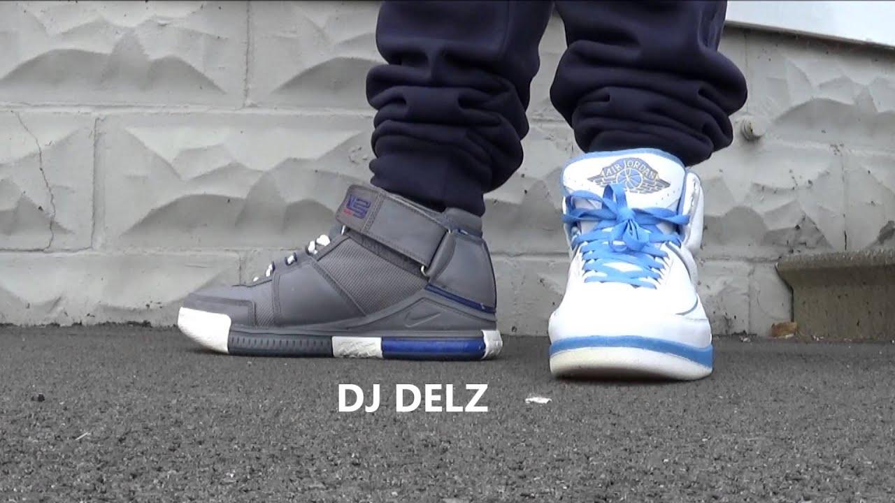 Air Jordan Vs Lebron 2 Sneakers WHO HAD THE HOTTER 2Nd Shoe Model With Dj  Delz a0f90ea2f