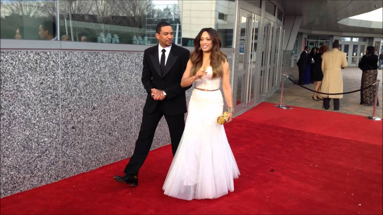 2014 Trumpet Awards Host Laz Alonso and Melissa De Sousa on the Red ... Laz Alonso Wife 2014
