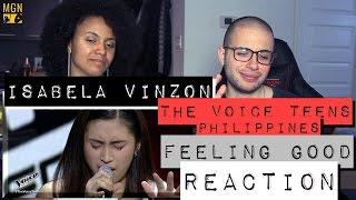 Isabela Vinzon - Feeling Good (The Voice Teens Philippines) Reaction