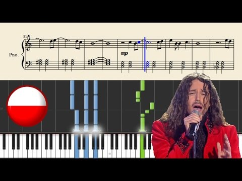 Michal Szpak - Color Of Your Life (POLAND) | Piano Tutorial