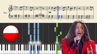 Michal Szpak Color Of Your Life POLAND Piano Tutorial