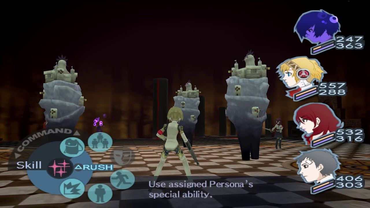 [Persona 3 FES] Controllable Party Members