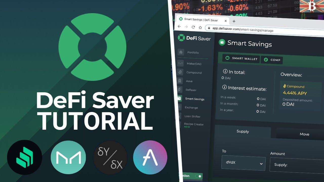 DeFi Saver Full Tutorial: One-Stop Management App for DeFi