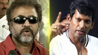 Actor Ponvannan resigns,  Is Vishal the reason? | TK 661