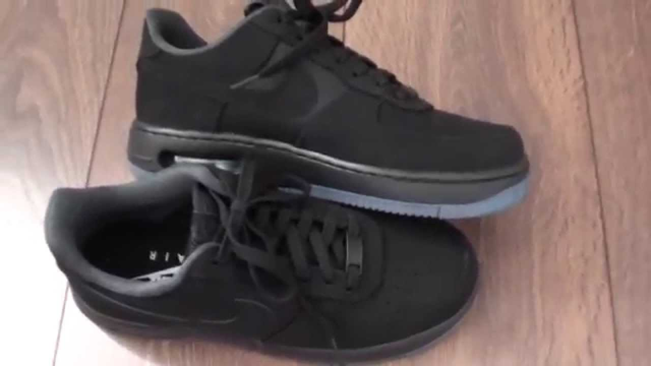 Nike Air Force 1 Elite Low Black Unboxing + On-Feet