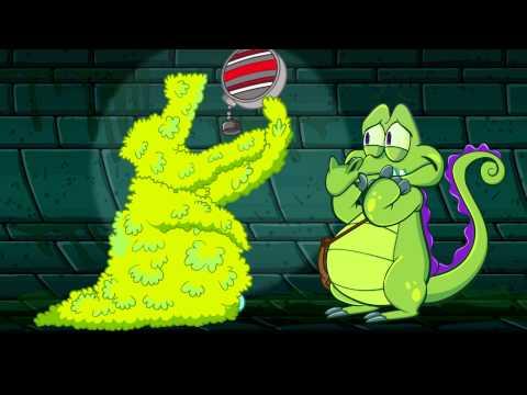 Крокодильчик Свомпи против гигантских водорослей