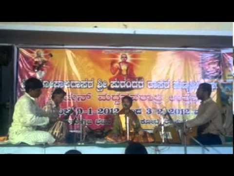 Raichur Sheshagiridas - hanumantha hanumantha - YouTube