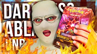DARKNESS ABLAZE POKEMON BOOSTER BOX OPENING (EXTREMELY LUCKY)