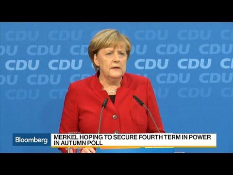 Merkel Hits Campaign Trail Seeking Fourth Term