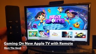 Gaming On New Apple TV 4th Gen with Remote