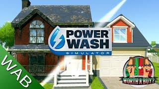 Power Wash Simulator Review - PHSSSSSSSsssssssss (Video Game Video Review)
