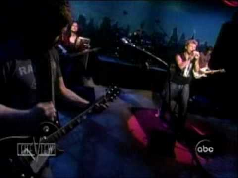 Nick Carter LIVE On The View - Do I have to cry for you