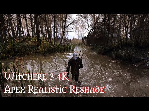 Witcher 3 Extreme modded: Photoreal Ultra graphic | NEW Apex Realistic Reshade |