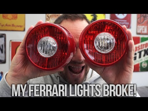 How I Fixed My Ferrari F430 Rear Lights