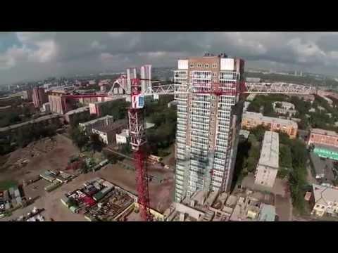 Жилой комплекс ВАВИЛОВСКИЙ. Съемка квадрокоптером. Сентябрь 2014