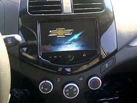 2013 Chevrolet Spark Plays Movies on the Radio