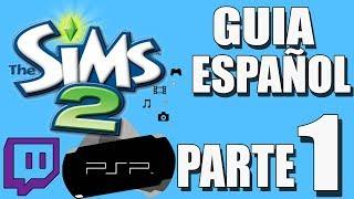 The Sims 2 [PSP] walkthrough/gameplay -ESPAÑOL- [PARTE 1]