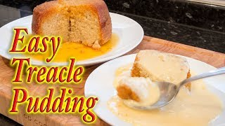 Treacle Pudding & Custard