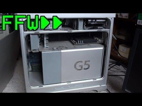 tl;dw - Power Mac G5 Video Card Upgrade