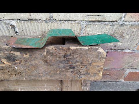 Trapezowanie Blachy Na Burty | Test Prasy Hydraulicznej | Made In Garage | Samoróbka